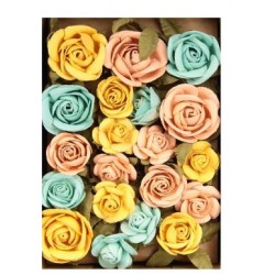 Little Birdie Flowers - FIONA  / Pastel Palette / 28pcs