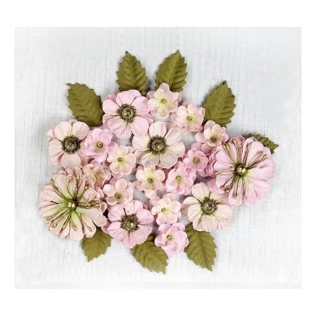 Little Birdie Flowers - RENAE / Pearl Pink / 27pcs