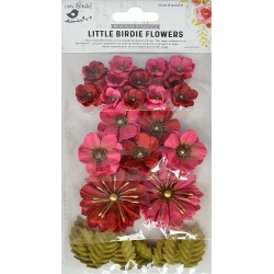 Little Birdie Flowers - RENAE / Candy Mix / 27pcs