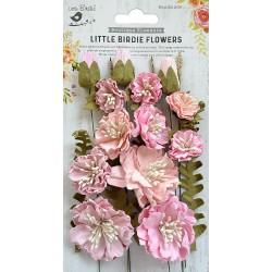 Little Birdie Flowers - NATALIE / Pearl Pink / 20pcs