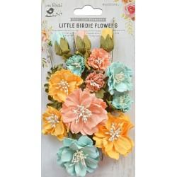 Little Birdie Flowers - NATALIE / Pastel Palette / 20pcs
