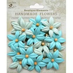 Little Birdie Flowers - BEADED LILIES / Pacific Blue / 20pcs