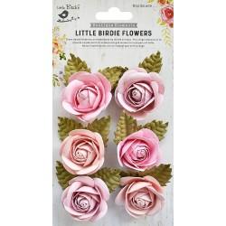 Little Birdie Flowers - SHARON /Blush / 6pcs
