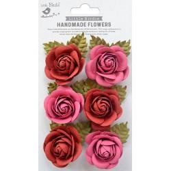 Little Birdie Flowers - SHARON /Candy Mix / 6pcs