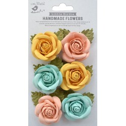 Little Birdie Flowers - SHARON / Pastel Palette / 6pcs