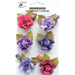 Little Birdie Flowers - TANIA /Birds and Berries/ 6pcs