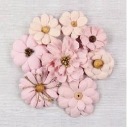 Little Birdie Flowers - SYMPHONY / Blush / 8pcs