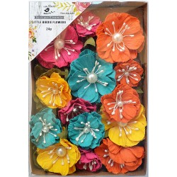 Little Birdie Flowers - MARGERY /Vivid Palette/ 24pcs