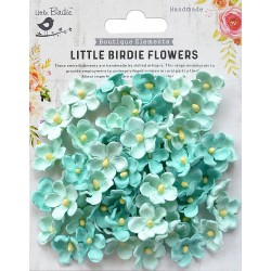 Little Birdie Flowers - PAULA / Arctic Ice / 60pcs