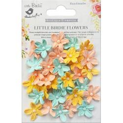 Little Birdie Flowers - PEARL PETITES / Pastel Palette / 40pcs