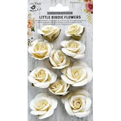 Little Birdie Flowers - JOANNA / Moon Light / 10pcs