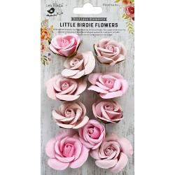 Little Birdie Flowers - JOANNA / Pearl Pink / 10pcs