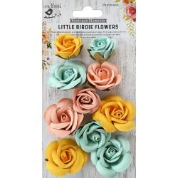Little Birdie Flowers - JOANNA / Pastel Palette / 10pcs