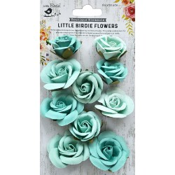 Little Birdie Flowers - JOANNA / Arctic Ice / 10pcs