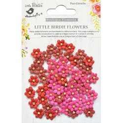 Little Birdie Flowers - BEADED MICRO PETALS / Candy Mix / 60pcs