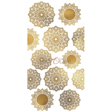 Scrapbooking Papers - Glitter Napkins / EXTRAS TO CUT