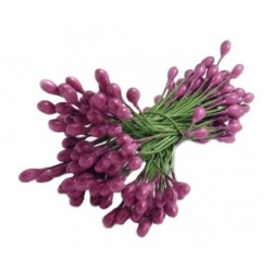 Wire Stamens 3mm / PURPLE