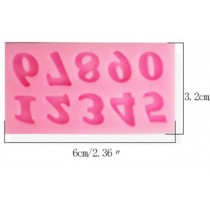 Silicone Mold - Mini Numbers