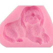 Silicone Mold - Cute Dog