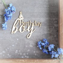 Chipboard - Birthday boy