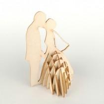 Chipboard - Wedding Couple 3D