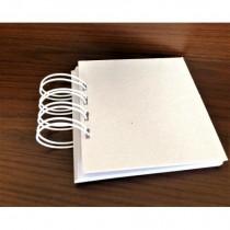 Small Spiral Album - Cardboard
