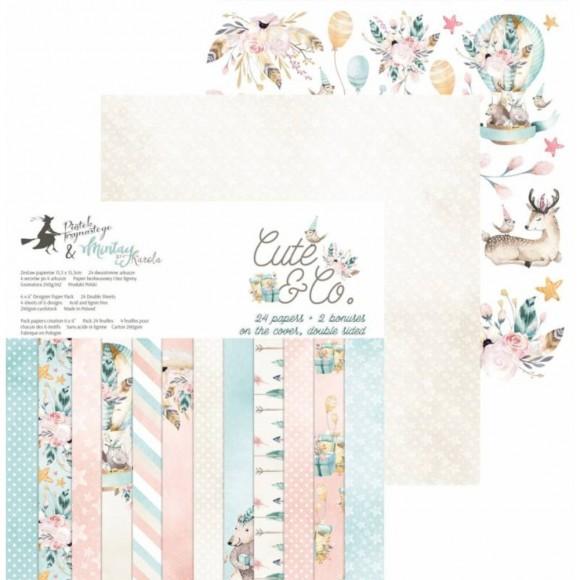 Scrapbooking Paper- Cute & Co. 6x6