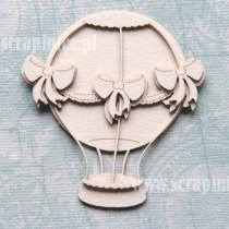Chipboard - Layered balloon...