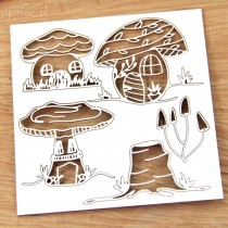 Chipboard - Mushrooms -...