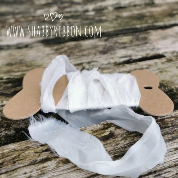 Shabby Ribbon Limited Edition - SUPER WHITE