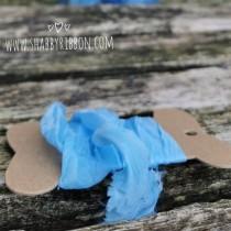 Shabby Ribbon - BABY BLUE