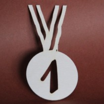 Chipboard - Medal