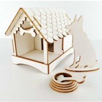 Chipboard - Dog House 3D