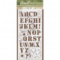 Stamperia Stencil 095 -...