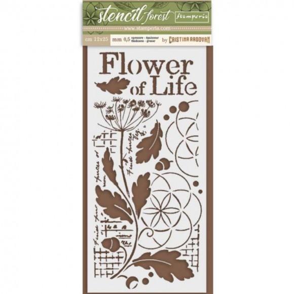 Stamperia Stencil 099 - Flower of Life