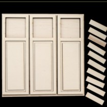 PLYWOOD -  Large Shutters