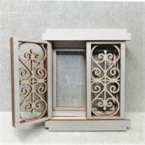 Chipboard 3D - Small window...