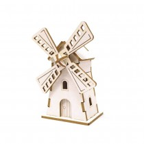Chipboard - Mini windmill 3D