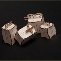 Chipboard - Gifts  3D