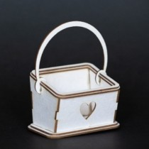 Chipboard - Lovely Basket  3D