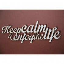 Chipboard - Keep calm and...