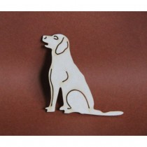 Chipboard - Dog Labrador