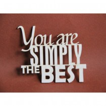 Chipboard - You are simply...