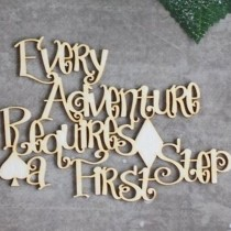 Chipboard - Quote from Alice