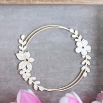 Chipboard - Flowery frame