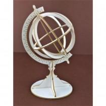 Chipboard - Globe 3D
