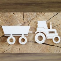 Chipboard - Tractor with a...