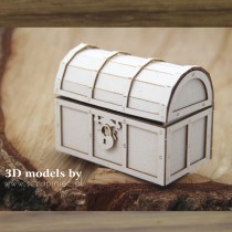 Chipboard -  Treasure Chest...