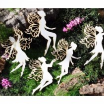 Chipboard - Fairies 5pcs