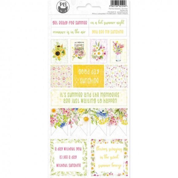 Sticker sheet - The Four Seasons - SUMMER